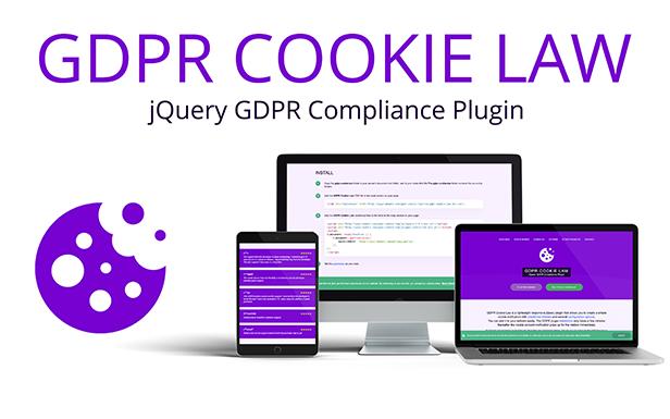 GDPR Cookie Law - jQuery EU Cookie Consent Plugin
