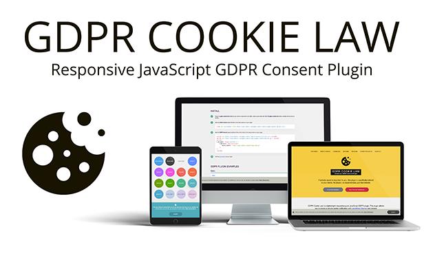 GDPR Cookie Law - JavaScript EU Cookie Consent Plugin