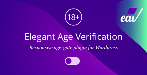 Elegant Age Verification – Responsive WordPress Age Verification Plugin