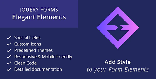 Elegant Elements – jQuery HTML Form Plugin